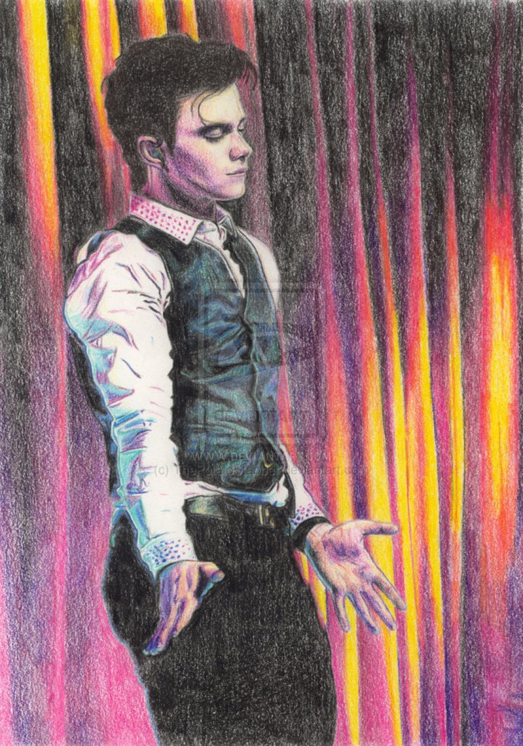 Chris Drawings & paintings Fanarts Chris_colfer___gl...-d49eg7o-31f6129