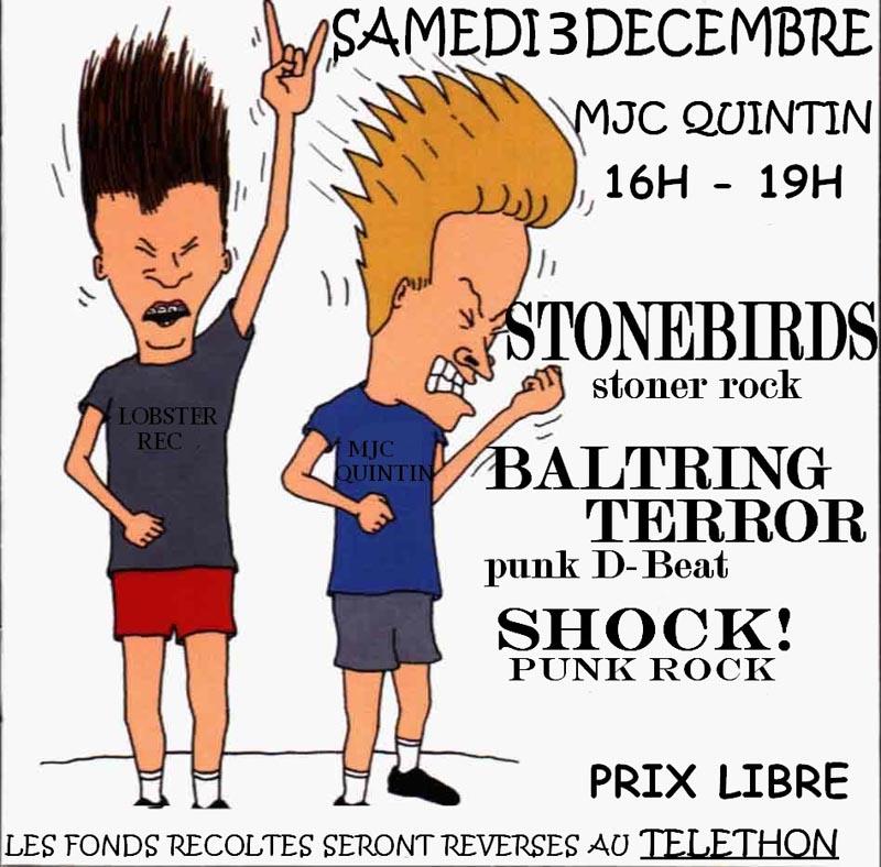 Stonebirds @ Quintin