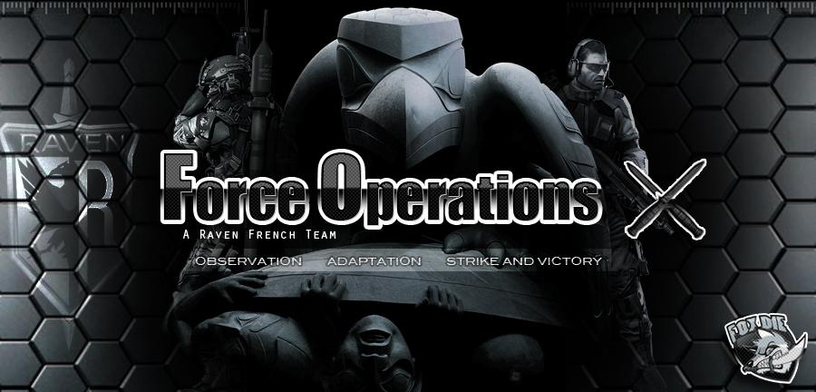 [FOX] Fox-Die - Force Opération X Index du Forum