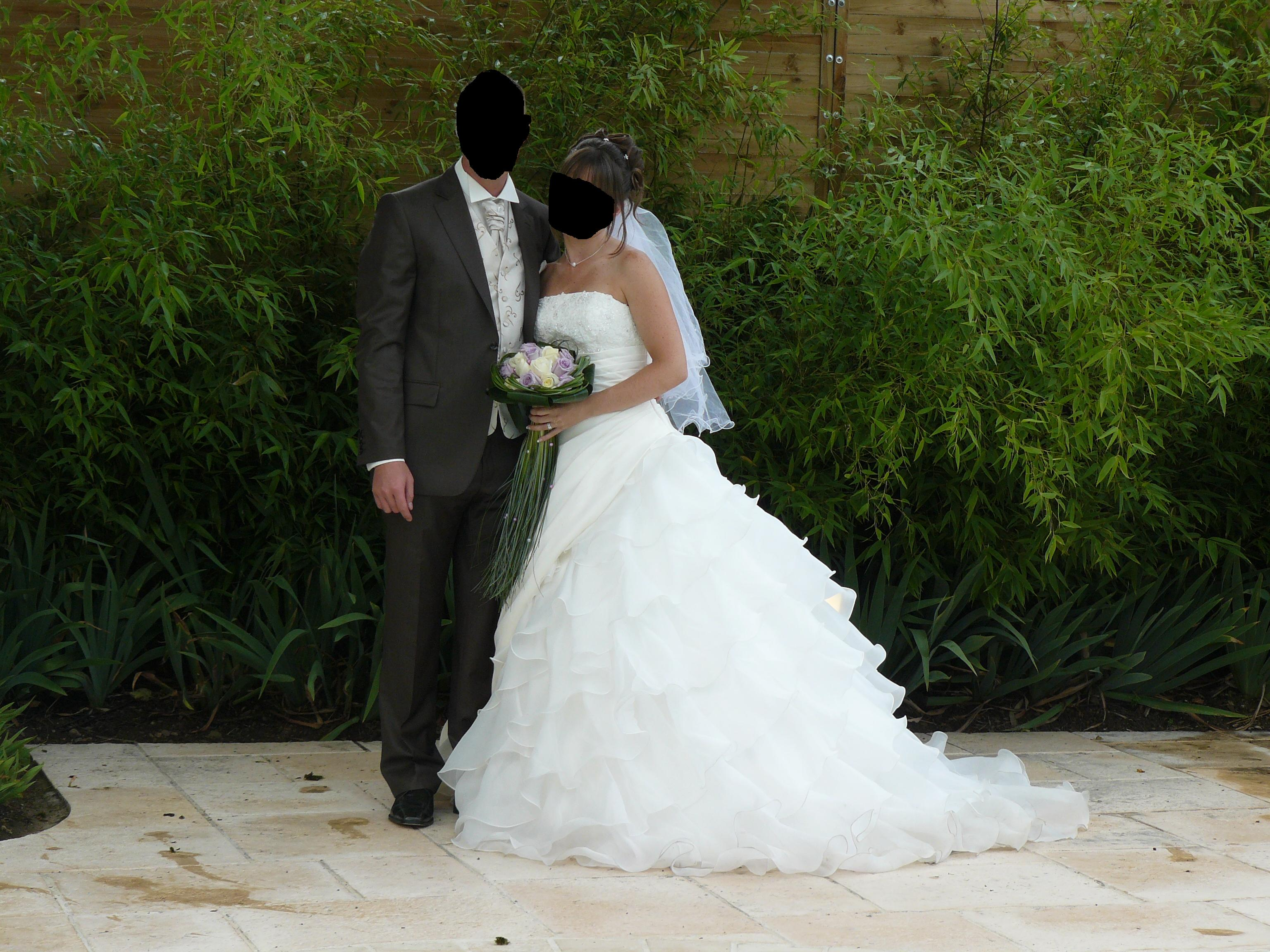a vendre robe de mari e alexis mariage taille 38